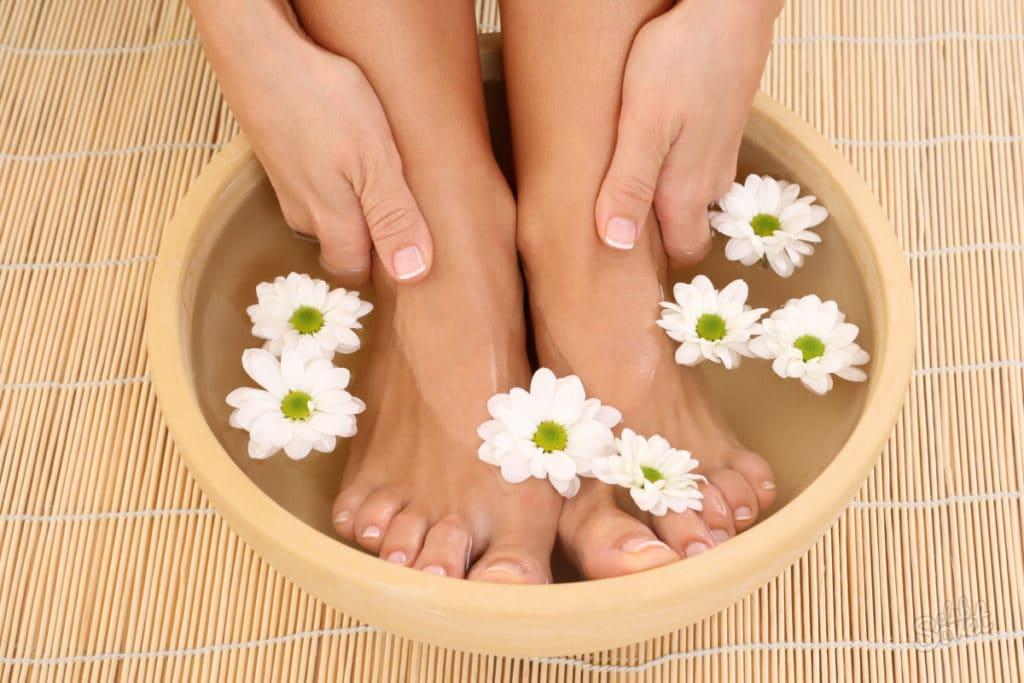 Ванночки для ног с уксусом