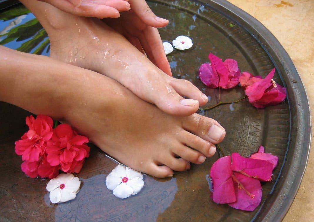 Содовые ванночки для ног от грибка