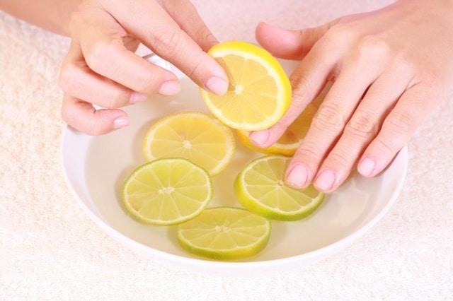 Лечение грибка свежим лимоном