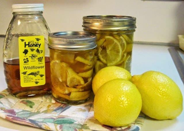 Мазь из мёда и лимонного масла