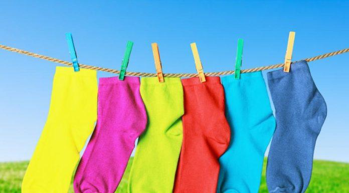 как стирать носки
