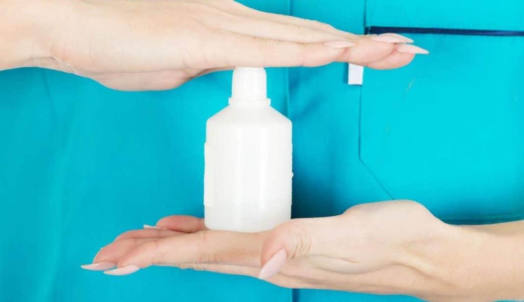 Избавиться от грибка перекисью водорода